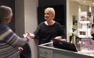 Lina ønsker velkommen Josefsson Magasinet