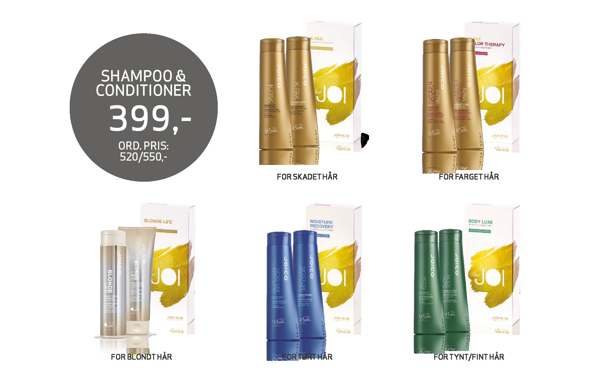 JOICO gaveesker Shampoo & Conditioner