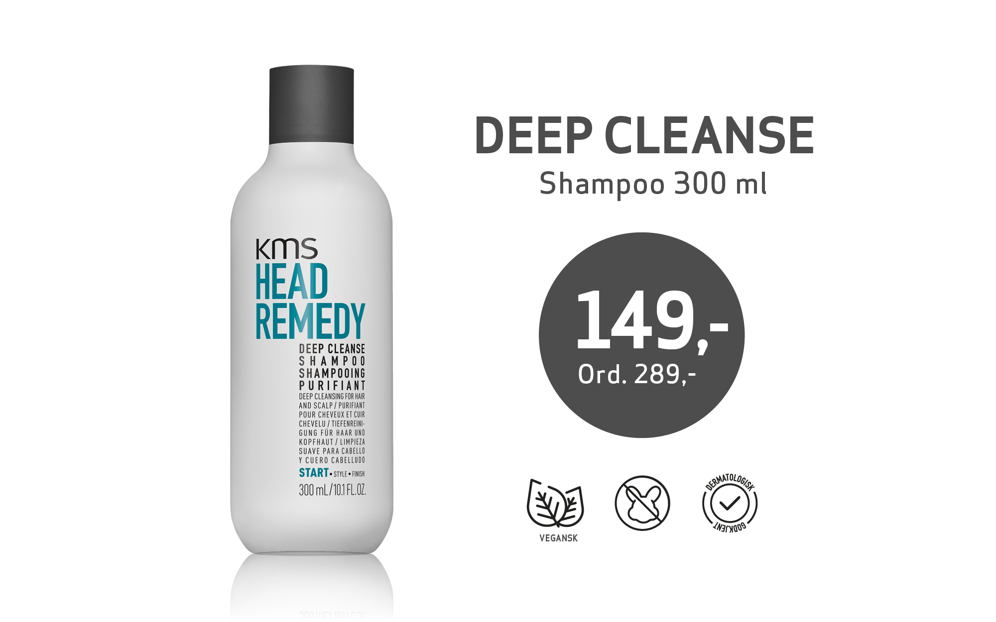 KMS Deep Cleanse Shampoo