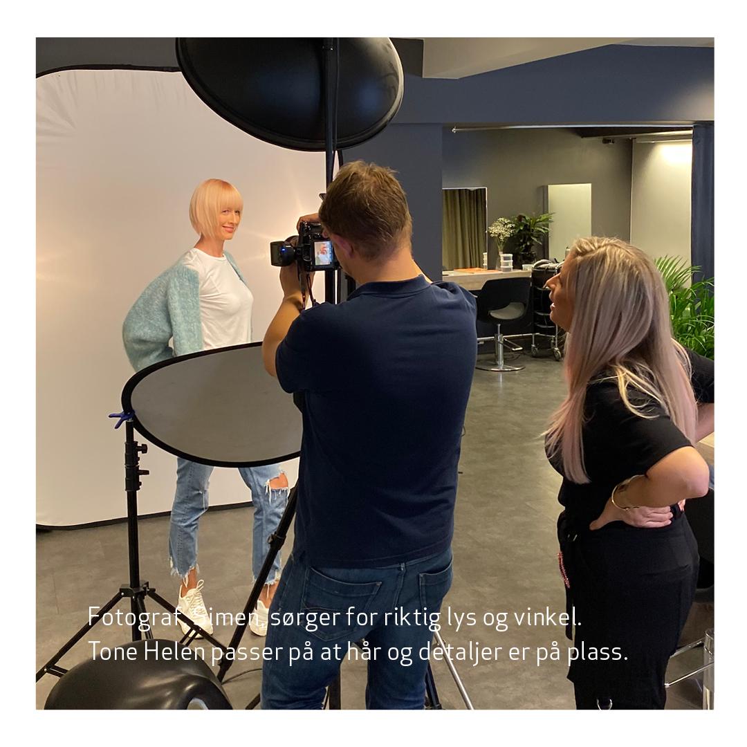 Fotoshoot bakombilder Josefsson