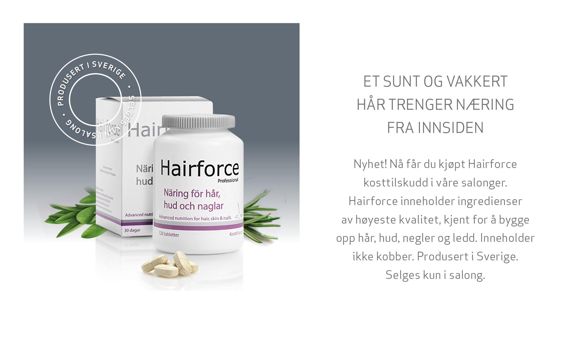 Hairforce kosttilskudd