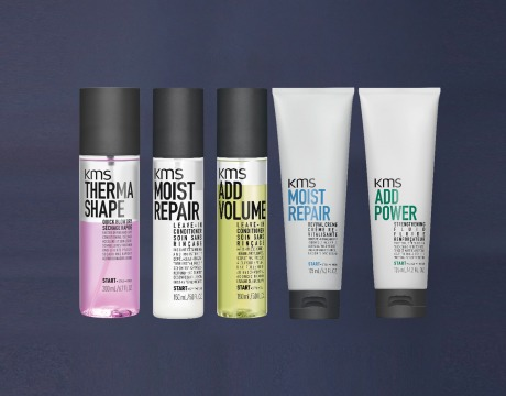 KMS leave-in products