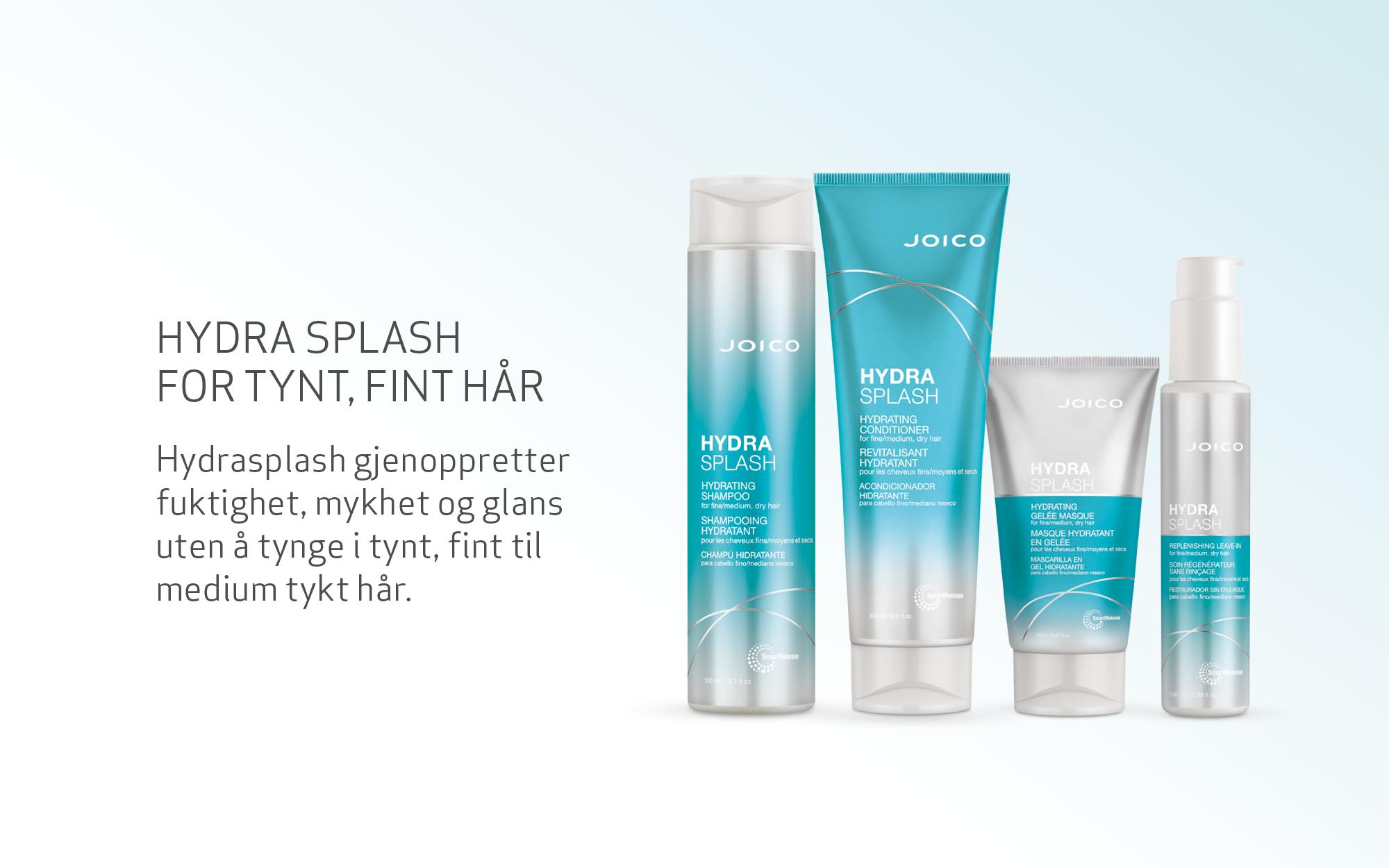 Joico Hydra Splash products