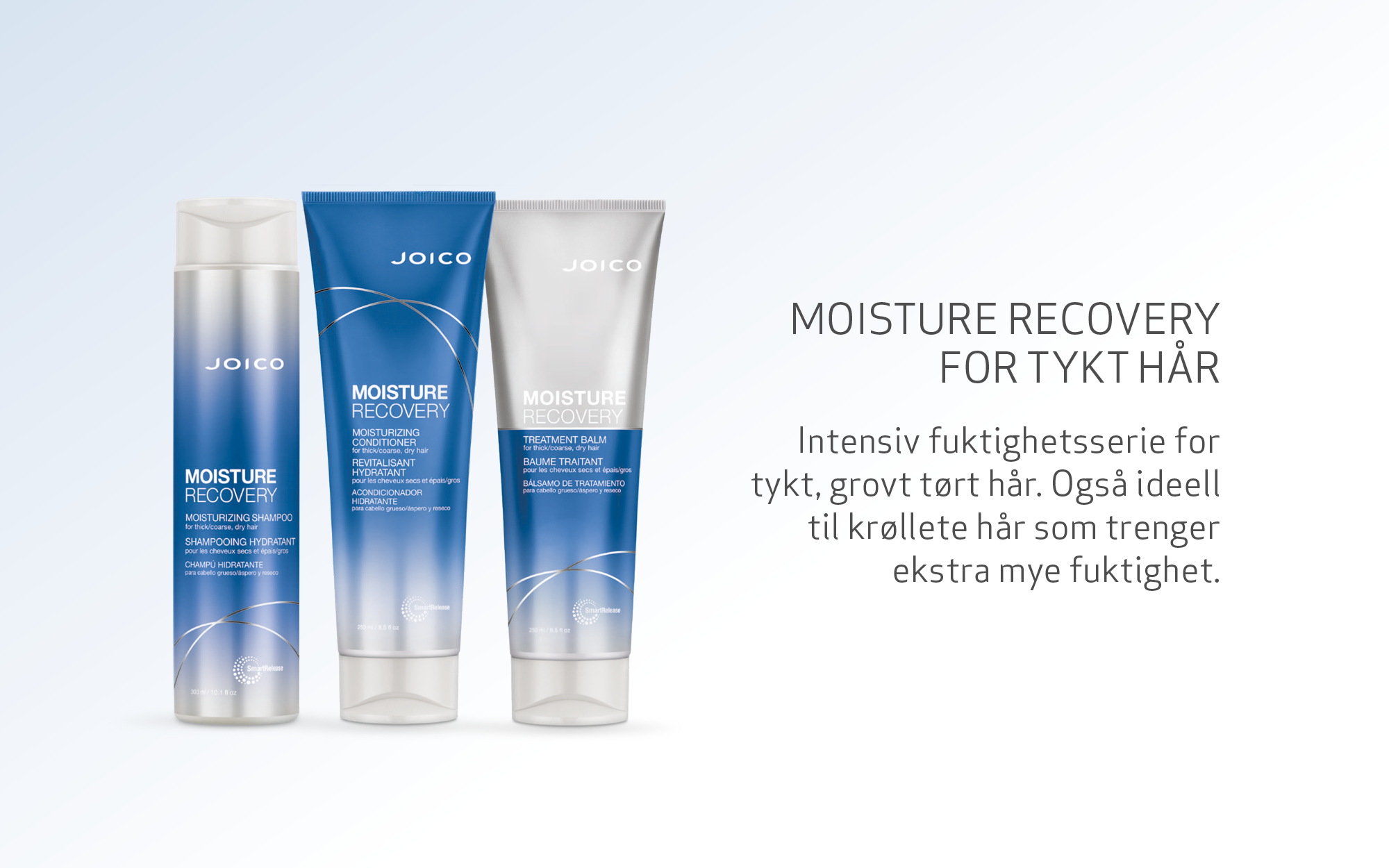 Joico Moisture Recovery products