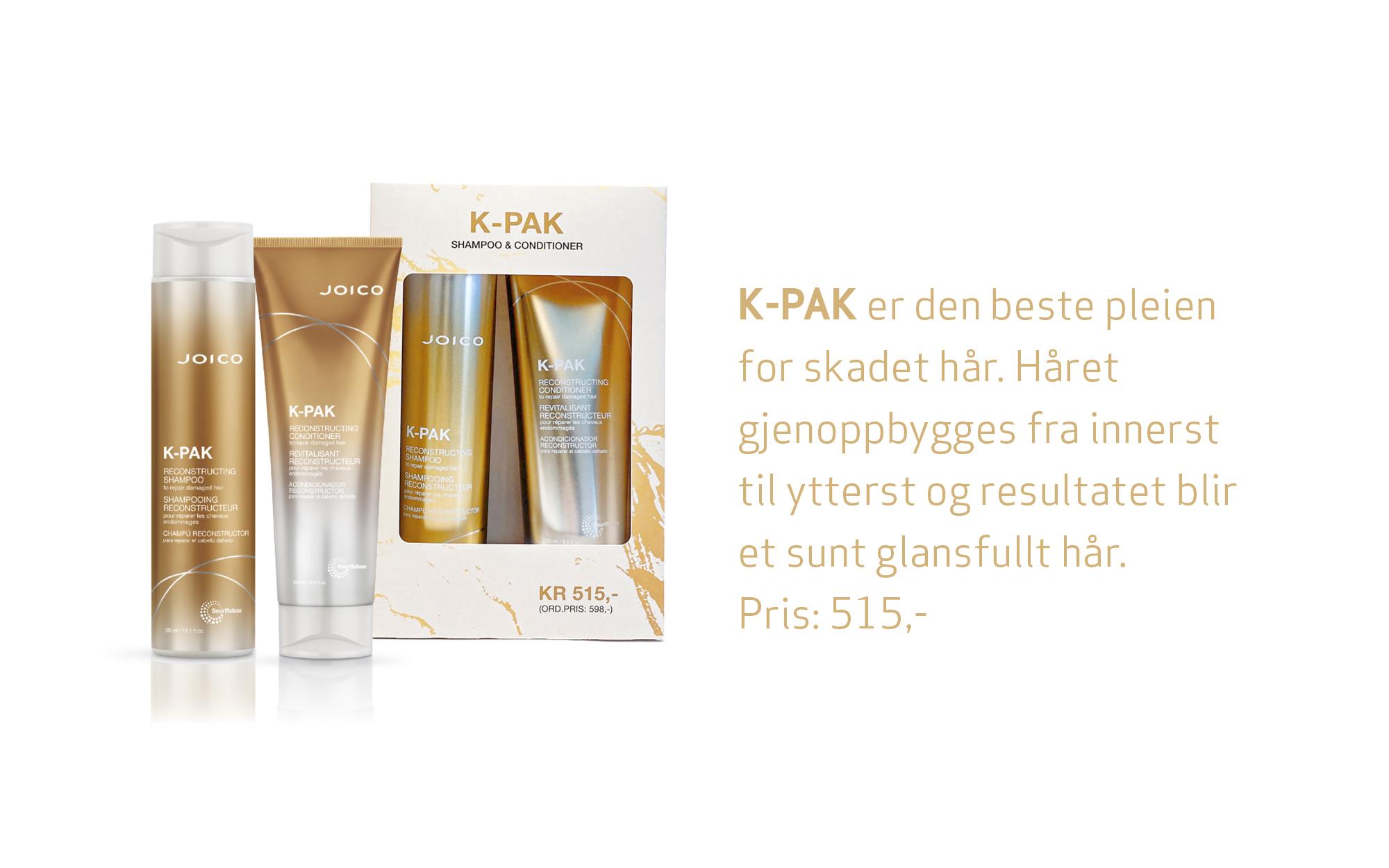 K-PAK Shampoo Conditioner