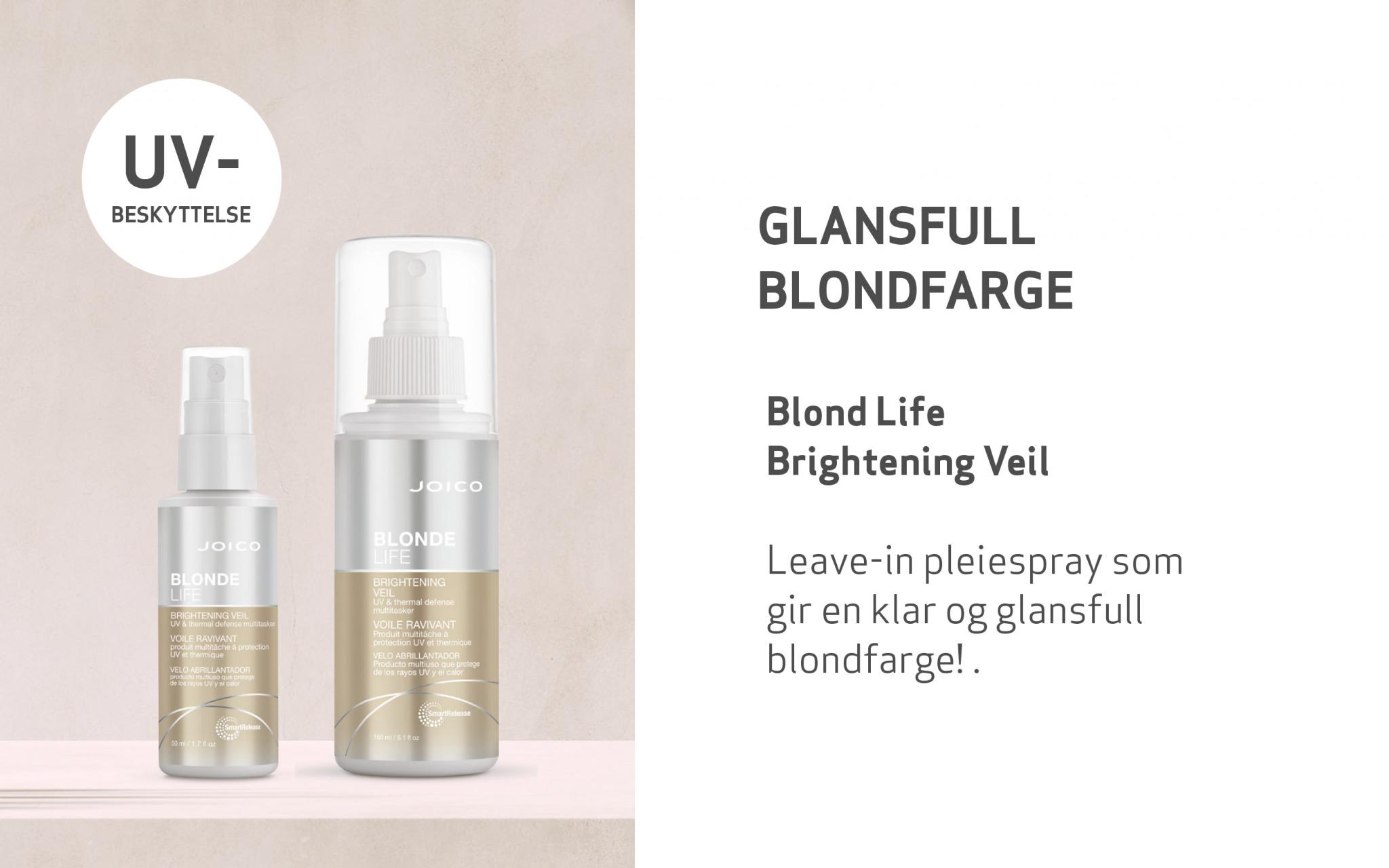 Hårprodukt Blond Life Brightening Veil i to størrelser